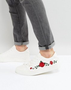 Белые кроссовки с вышивкой Good For Nothing - Белый