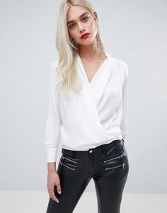 Блузка с запахом Outrageous Fortune - Белый