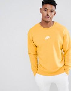 Желтый свитшот Nike Heritage 928427-752 - Желтый
