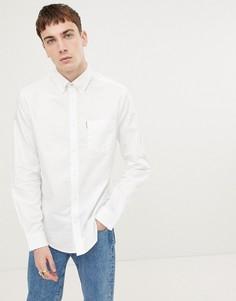 Оксфордская рубашка узкого кроя Ben Sherman - Белый
