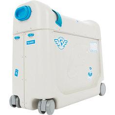 Детский чемодан-кроватка для путешествий JetKids BedBox, синий