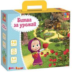 """Настольная игра Vladi Toys """"Маша и Медведь"""" Битва за урожай"""