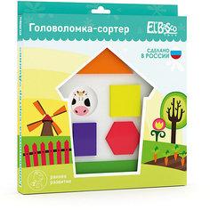 "Головоломка-сортер El`Basco Toys ""Домик"""