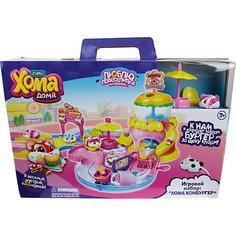"""Игровой набор 1Toy """"Хома Дома"""" : Хома Хомбургер, хомячок."""