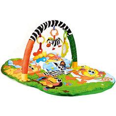 """Детский коврик Umka """"Животные африки"""" с игрушками на подвеске Умка"""