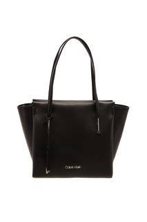 Черная сумка-шоппер Calvin Klein
