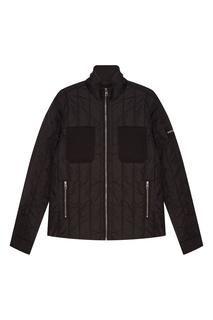 Стеганная черная куртка Calvin Klein