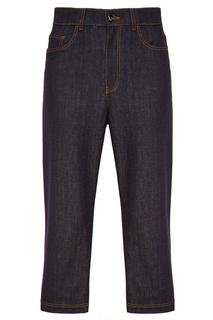 Темно-синие джинсы Fendi