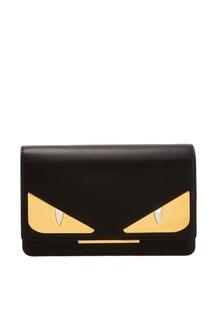 Компактная черная сумка Fendi