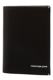 Прямоугольный черный кошелек Calvin Klein