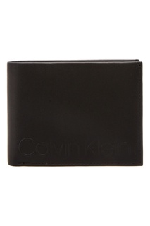 Квадратный кошелек черного цвета Calvin Klein