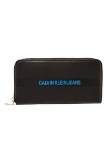 Прямоугольный кошелек с логотипом Calvin Klein