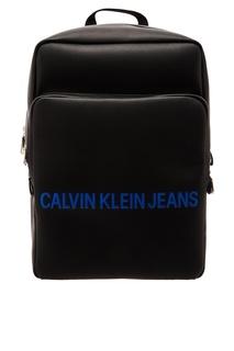Прямоугольный черный рюкзак Calvin Klein