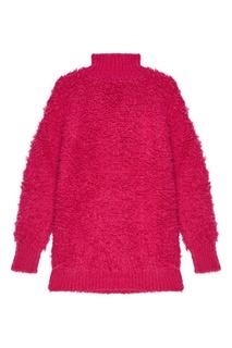 Розовый шерстяной свитер Marni