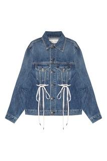 Джинсовая куртка с завязками Proenza Schouler