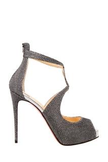 Туфли Rosie 120 с глиттером Christian Louboutin