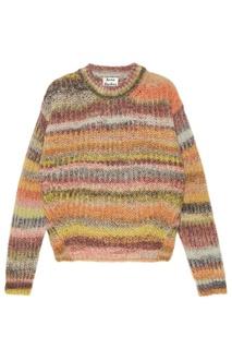Цветной свободный свитер Acne Studios