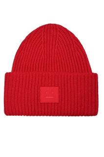 Красная шерстяная шапка Acne Studios