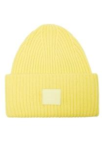 Желтая шапка из шерсти Acne Studios