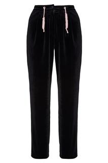 Черные бархатные брюки Budapest Yuzhe Studios