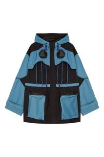 Комбинированная куртка с отделкой Zizzou Yuzhe Studios