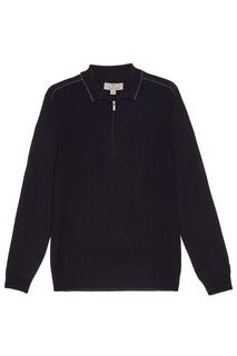 Синий свитер из шерсти Canali