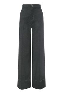 Широкие черные брюки Color Temperature