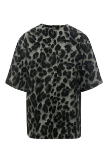 Блузка с леопардовым узором Color Temperature