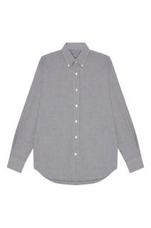 Серая рубашка с длинными рукавами Canali