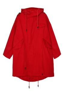 Красное пальто Duffy Isabel Marant Etoile