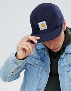 Темно-синяя 5-панельная кепка Carhartt WIP Backley - Темно-синий