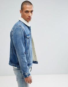 Куртка на подкладке из искусственного меха Levis Type 3 - Синий Levis®