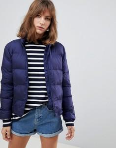 Дутая куртка Herschel - Темно-синий