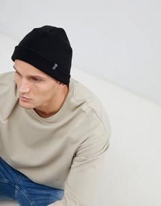 Черная шапка-бини Esprit - Черный