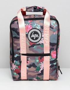 Рюкзак с цветочным принтом Hype - Мульти