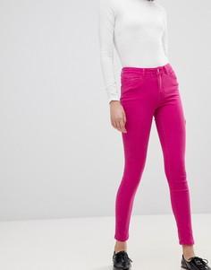 Джинсы скинни в стиле колор блок Vero Moda - Розовый