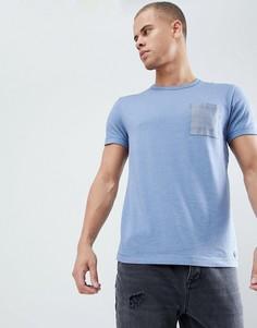 Футболка с джинсовым карманом Esprit - Синий