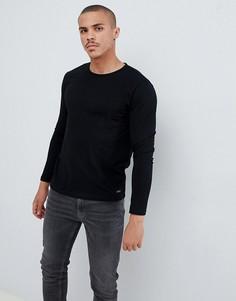 Черный лонгслив Esprit - Черный