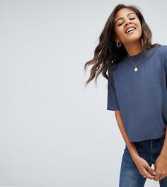 Свободная футболка ASOS DESIGN Tall - Серый
