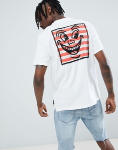Element x Keith Haring t-shirt with back print in white - Белый