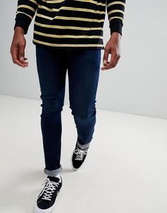 Суженные книзу темно-синие узкие джинсы Lee Jeans Luke - Синий