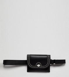 Черная сумка с ремнем и пряжкой Glamorous - Черный