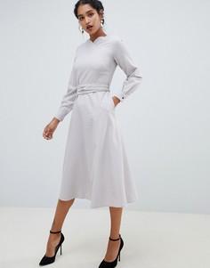 1aef5741776 Купить женские платья с длинным рукавом с завышенной талией в ...