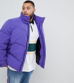 Фиолетовая дутая oversize-куртка ASOS DESIGN Plus - Фиолетовый