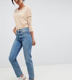 Голубые прямые джинсы ASOS DESIGN Tall Recycled Florence authentic - Синий