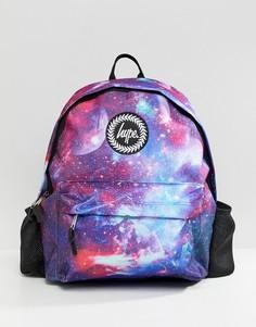 Рюкзак с космическим принтом Hype - Синий