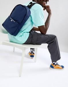 Темно-синий рюкзак с принтом ASOS DESIGN - Темно-синий