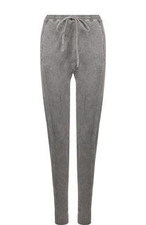 Хлопковые брюки с карманами и эластичным поясом Roque