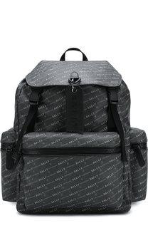Текстильный рюкзак Off Shore с внешними карманами на молнии Bally