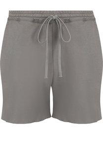 Однотонные хлопковый шорты с эластичным поясом Roque